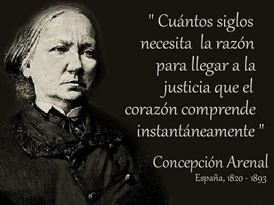 Concepción arenal frases